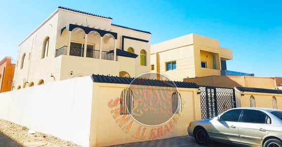 فیلا 5 غرف نوم للبيع في المويهات، عجمان - فيلا طابقين جديدة اول ساكن للبيع بعجمان