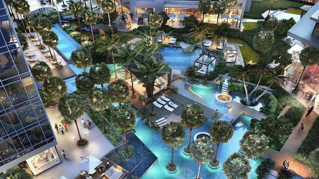 12 Exclusive offer for Studio apartment in Aykon City