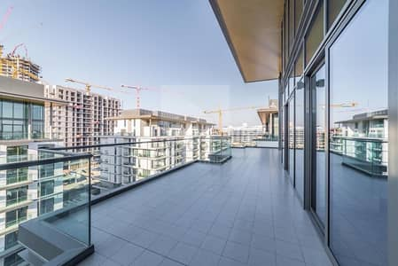 3 Bedroom Apartment for Rent in Mohammad Bin Rashid City, Dubai - Large Terrace | Brand New | High Floor