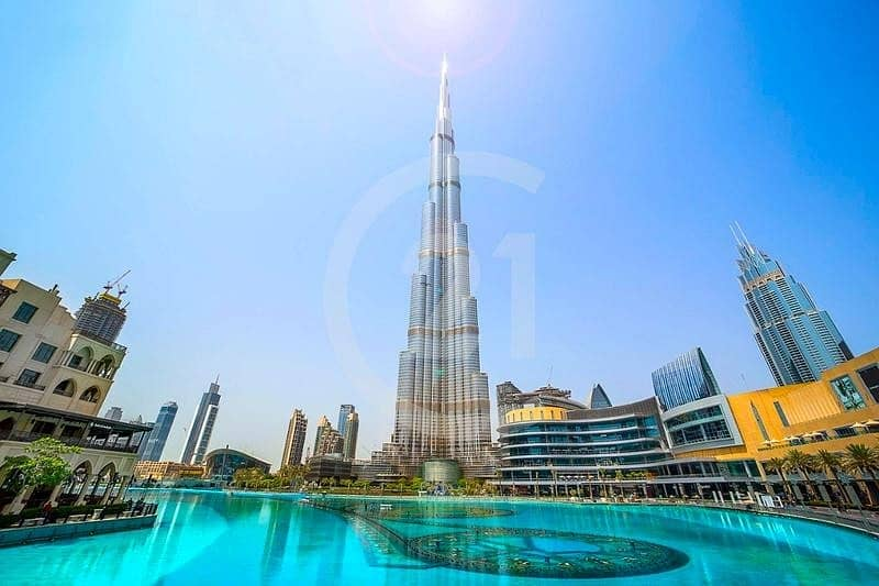 Luxurious 2 Bedroom apartment I Burj Khalifa I Furnished for rent