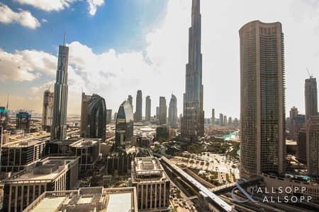 3 Bedroom Flat for Sale in Downtown Dubai, Dubai - 3 Bed + Maids   Corner unit   High Floor