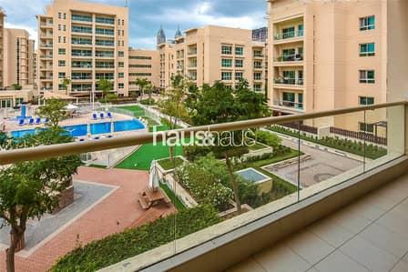 فلیٹ 2 غرفة نوم للايجار في الروضة، دبي - Unfurnished | 2 Bed + Study | Pool View |