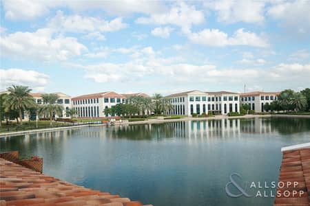 3 Bedroom Apartment for Sale in Green Community, Dubai - 3 Bedrooms Terrace Apartment | Lake View
