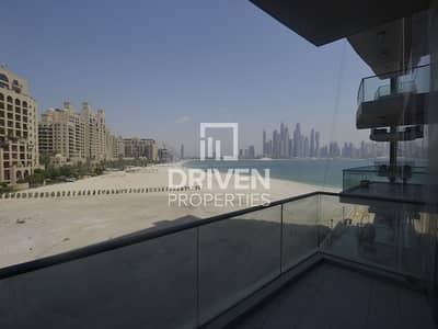 شقة 3 غرف نوم للبيع في نخلة جميرا، دبي - 3 Bedroom Apartment with Partial Sea View