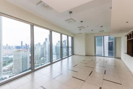 فلیٹ 3 غرف نوم للايجار في وسط مدينة دبي، دبي - Last 3 Bed Unit in Tower