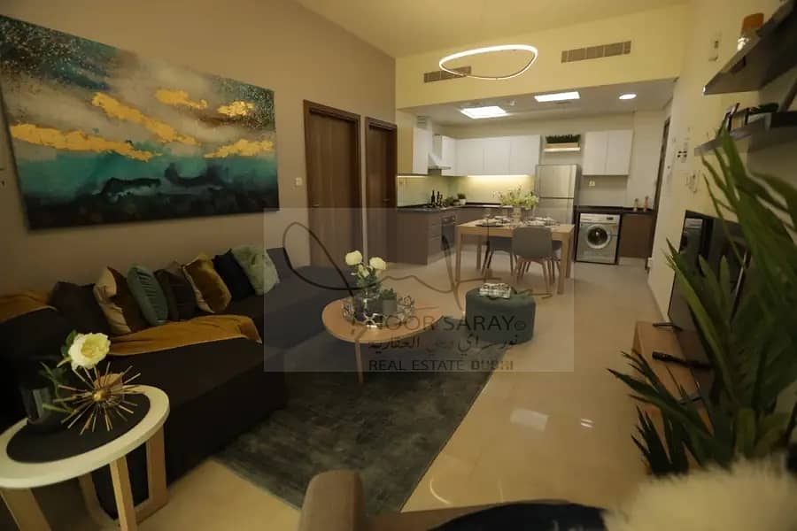 2 NO COMMISSION|1BHK IN DUBAI| Ready to Move | Near Metro Station
