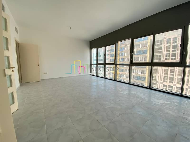 Huge Size 2 BR Apartment with Maids Balcony & Wardrobes