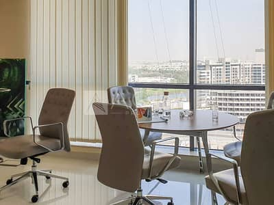 Office for Rent in Jumeirah Lake Towers (JLT), Dubai - Fully Fitted office in X2 Jumeirah Bay JLT