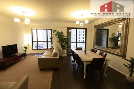 Sea View Specious Furnished 2 Parkings  JBR