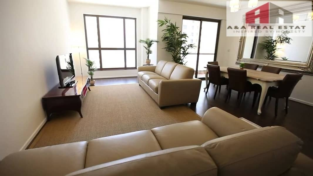 29 Sea View Specious Furnished 2 Parkings  JBR