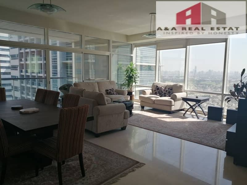Fully Furnished Huge Size 2+Maid Madina Tower JLT