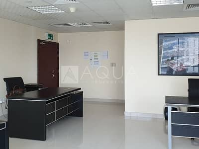 Office for Rent in Jumeirah Lake Towers (JLT), Dubai - Higher Floor / Fitted Office / Lake View