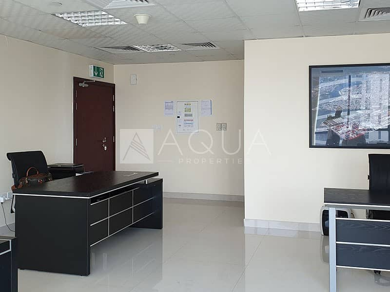 Higher Floor / Fitted Office / Lake View
