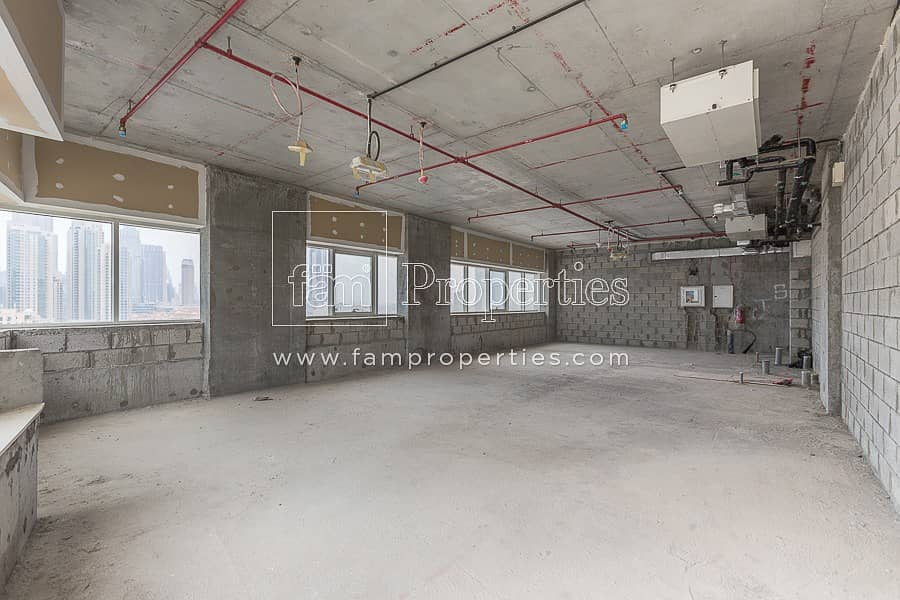 2 Shell and Core Office on a High Floor | Vacant