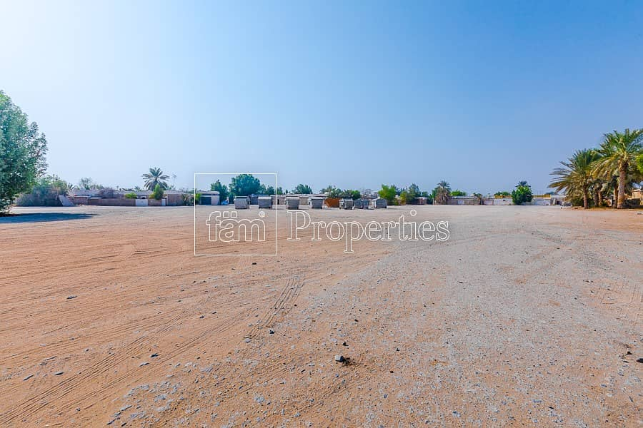 Al Wasl Freehold Villa Plot