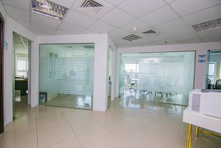 Office for Rent in Barsha Heights (Tecom), Dubai - Furnished Office in Tecom |Modern | Accessible