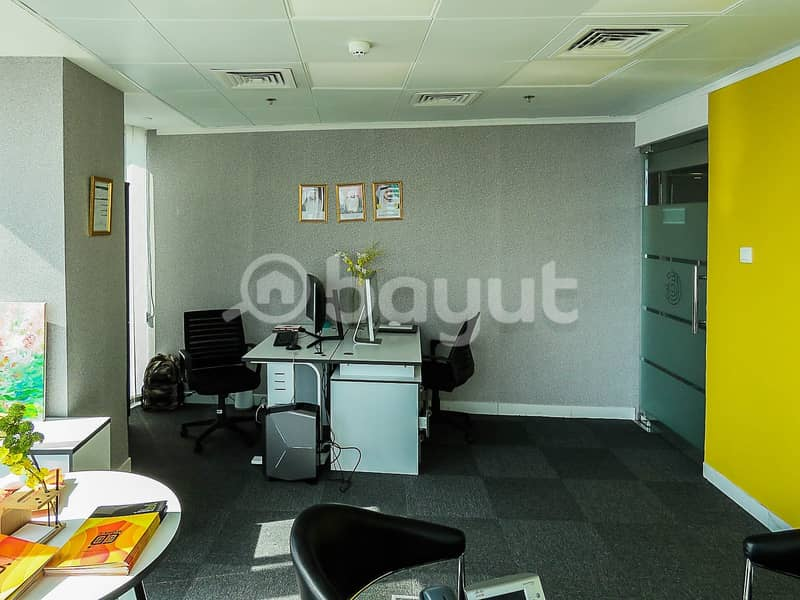 REDUCED PRICE FOR A LIMITED TIME / Fully Furnished Office Space with NO COMMISSION