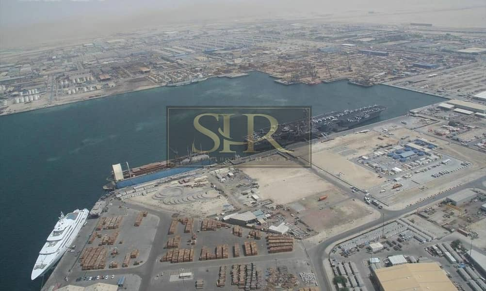2 Jafza North Commercial Industrial with Open Yard