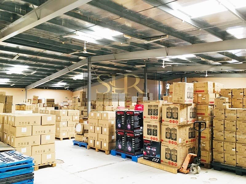 10 Jafza North Commercial Industrial with Open Yard