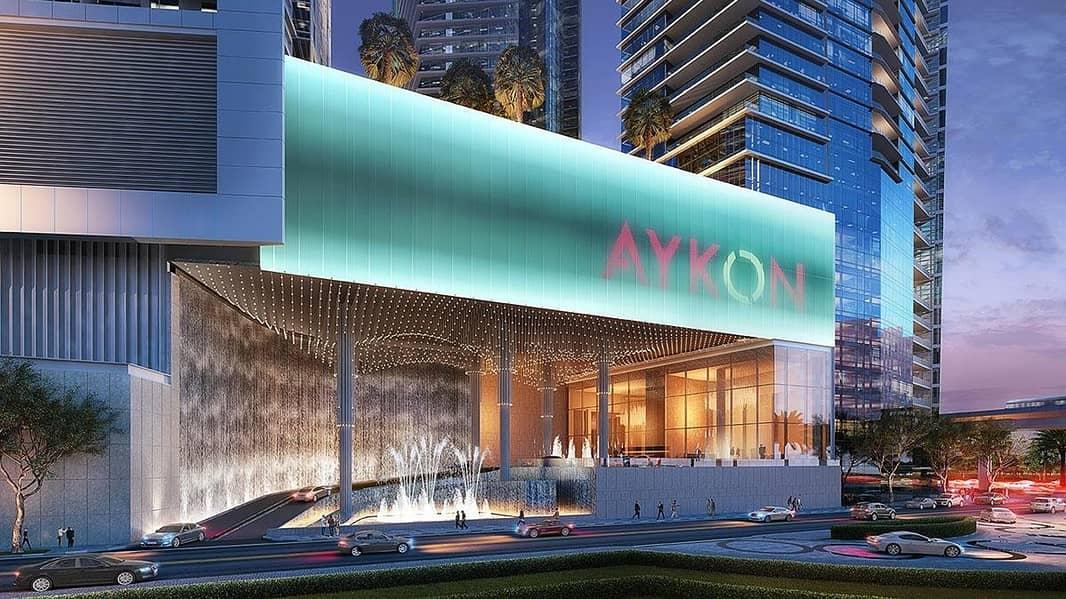 Luxury Studio Apartment for sale in Aykon City.