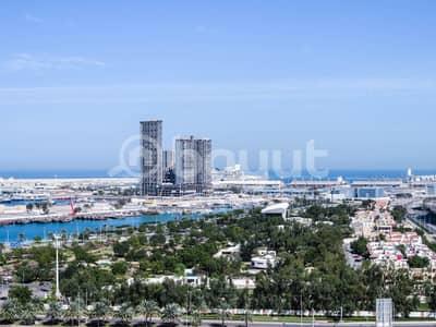شقة 4 غرف نوم للايجار في منطقة الكورنيش، أبوظبي - شقة في منطقة الكورنيش 4 غرف 125000 درهم - 4486142