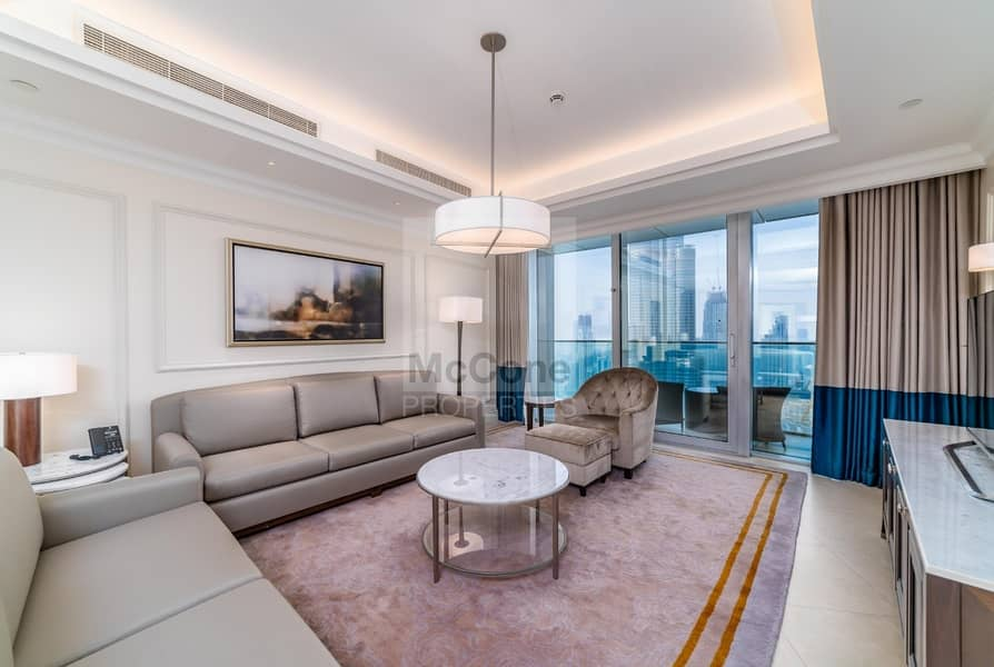 Stunning 3 Bed With Full Burj Khalifa Views