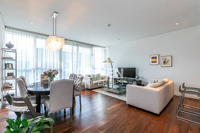 Furnished | 2 Bed Apt+Maid | Boulevard View