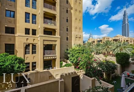 1 Bedroom Flat for Rent in Old Town, Dubai - OT Specialist | Community View | Vacant