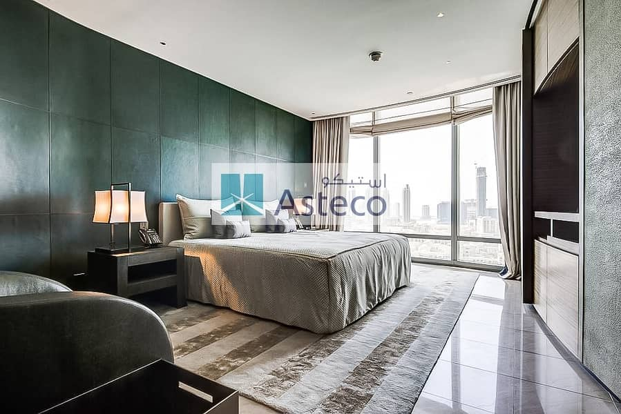 1 Brand New Fully Furnished on High Floor | Vacant