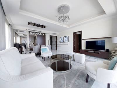 3 Bedroom Apartment for Rent in Downtown Dubai, Dubai - 3 Bed+Maid/ Sky collection/ spectacular views