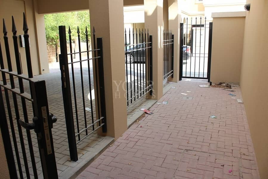 10 Brilliant 2BR + Maid Room TH with Pvt Garden