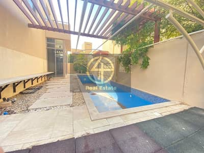 فیلا 4 غرف نوم للايجار في حدائق الراحة، أبوظبي - Enrapturing 4 BR +M Villa In Al Raha Garden