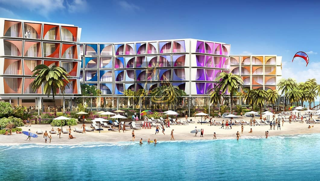 Invest Opulent Hotel Apartments for sale in The World Islands | with An Attractive Payment Plan