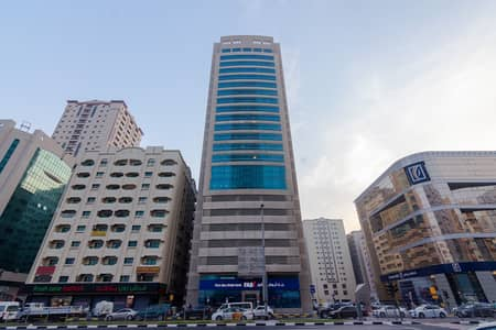 2 Bedroom Flat for Rent in Al Qasimia, Sharjah - Chiller Free Building Spacious 2BHK - Al Qassimia Tower 1