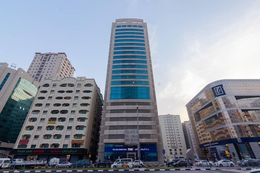 Chiller Free Building | Spacious 2BHK - Al Qassimia Tower 1