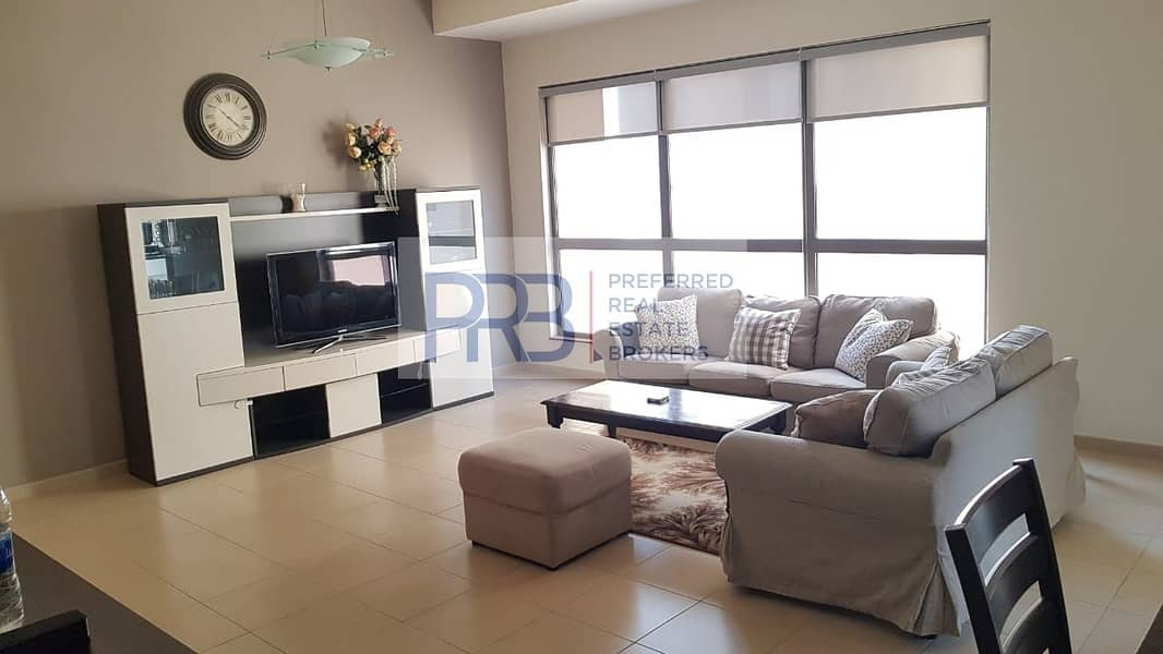 2 Br Furnished Apartment For Rent in JBR