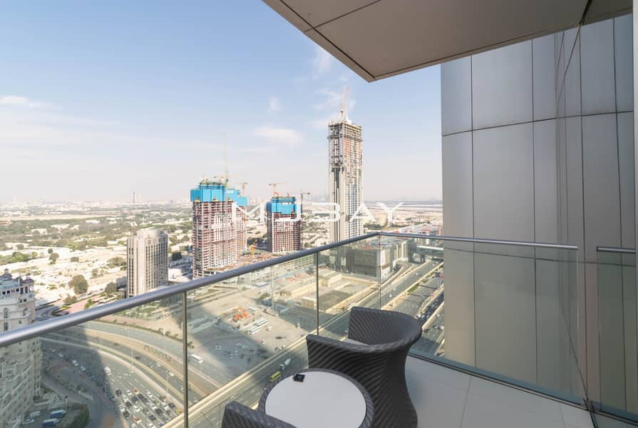 2 High Floor | Fully Furnished | Vacant