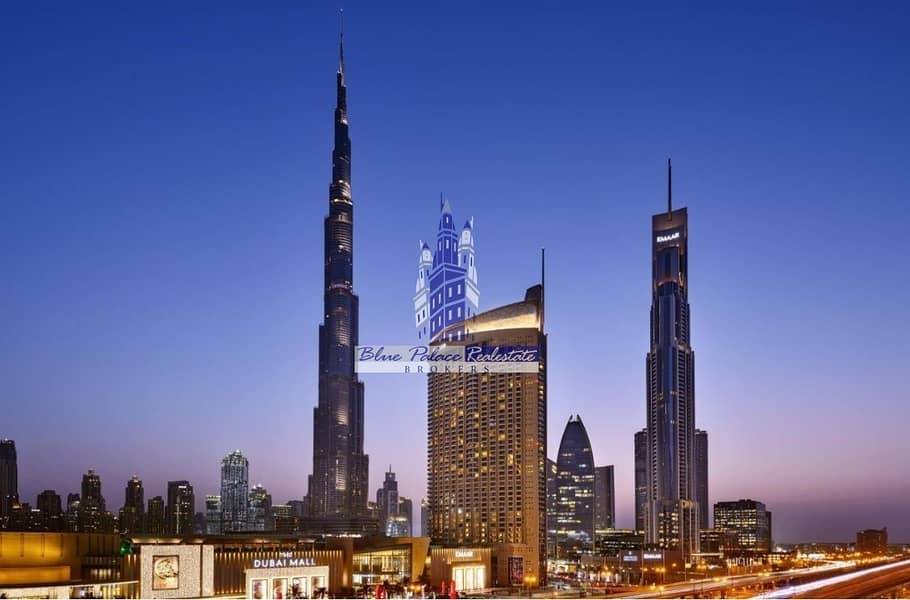 The Address Dubai Mall Hotel 1br w/ P. Burj Khalifa View