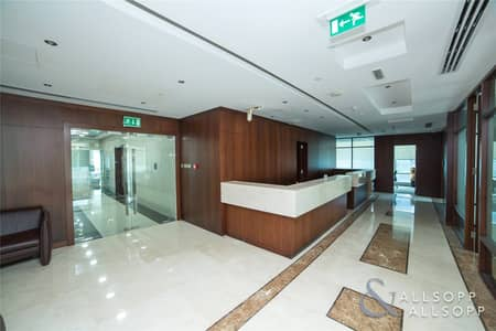 Office for Rent in Jumeirah Lake Towers (JLT), Dubai - Fitted Half Floor | Near Metro |10 Parking