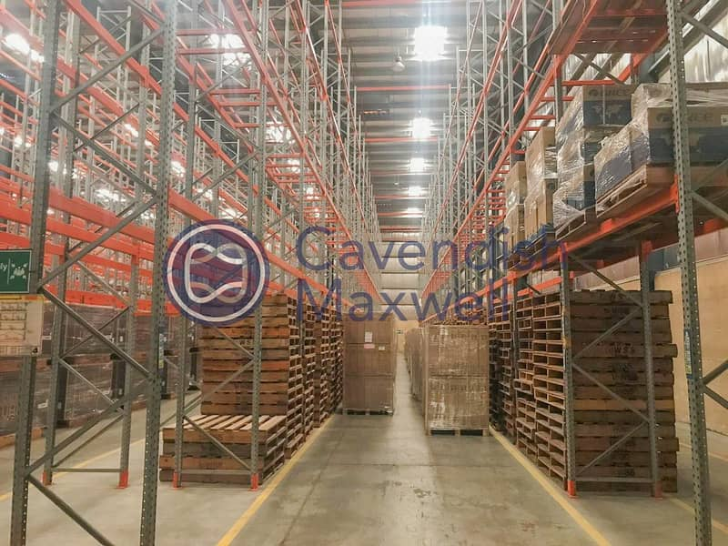Fully Insulated Warehouse with Racking System