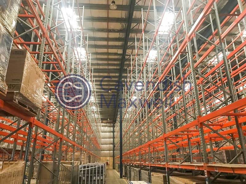 11 Fully Insulated Warehouse with Racking System