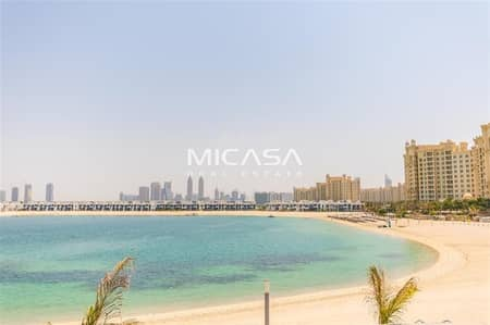 Studio for Rent in Palm Jumeirah, Dubai - Breathtaking Full Sea View - Fully Furnished.