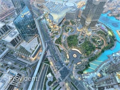 بنتهاوس 4 غرف نوم للايجار في وسط مدينة دبي، دبي - Awe-inspiring 4 B/R with Breathtaking Views