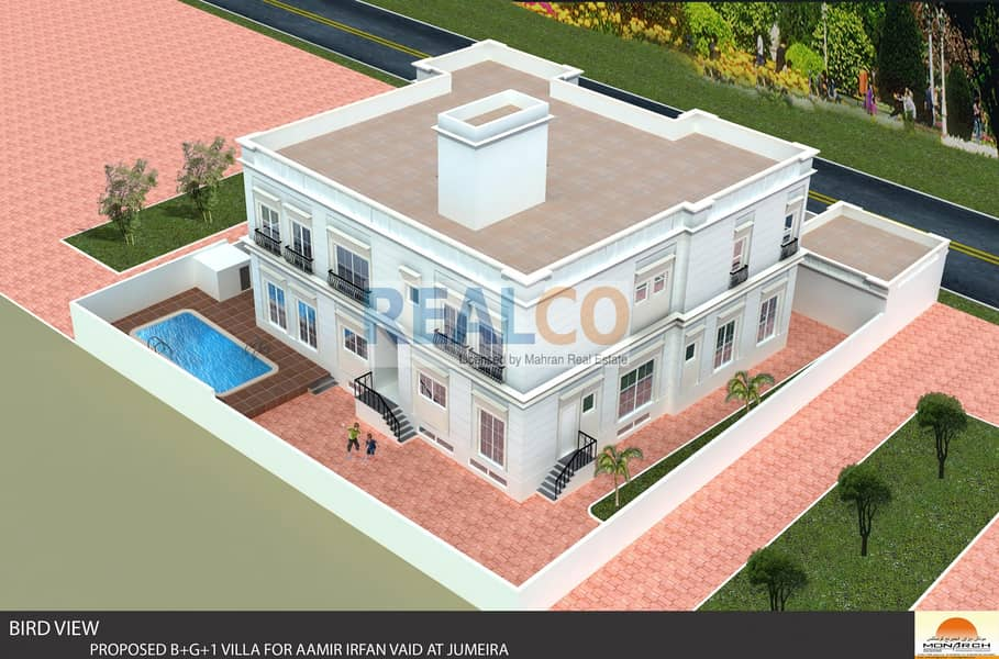 2 Super Luxury 8 Bedrooms Villa/Very Close to Beach/Available  for sale