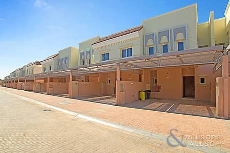 2 Bedroom Townhouse for Sale in Jumeirah Golf Estate, Dubai - Al Andalus | 2 Bedrooms | Backing Plaza