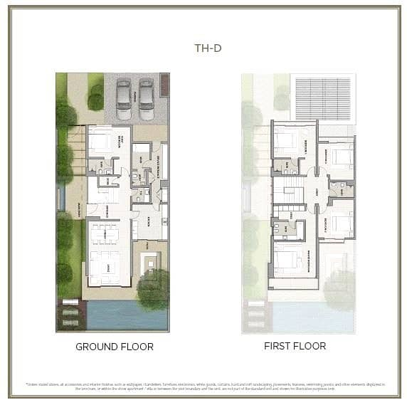 10 5 Bed TH-D   Close to Pool   Landscaped