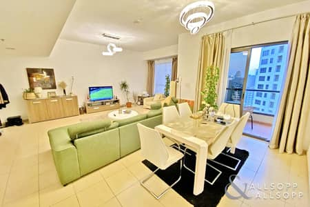 2 Bedroom Flat for Sale in Jumeirah Beach Residence (JBR), Dubai - Vacant | 1562 Sq.Ft | 2 Bedroom | Shams 4