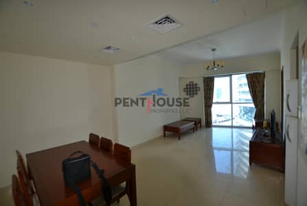 Partly Furnished 1BR |Near Metro| SZR/Marina View|