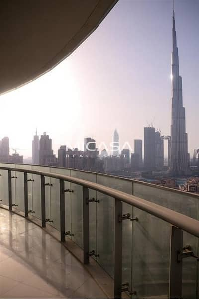 2 Bedroom Apartment for Rent in Downtown Dubai, Dubai - Burj View|| Furnished || Prime location.