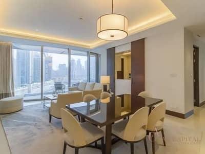 شقة 3 غرف نوم للايجار في وسط مدينة دبي، دبي - 04 Middle Unit I Luxury 3 Bedroom I Bills Included